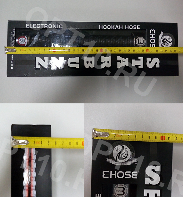 Размеры коробки Starbuzz E-Hose